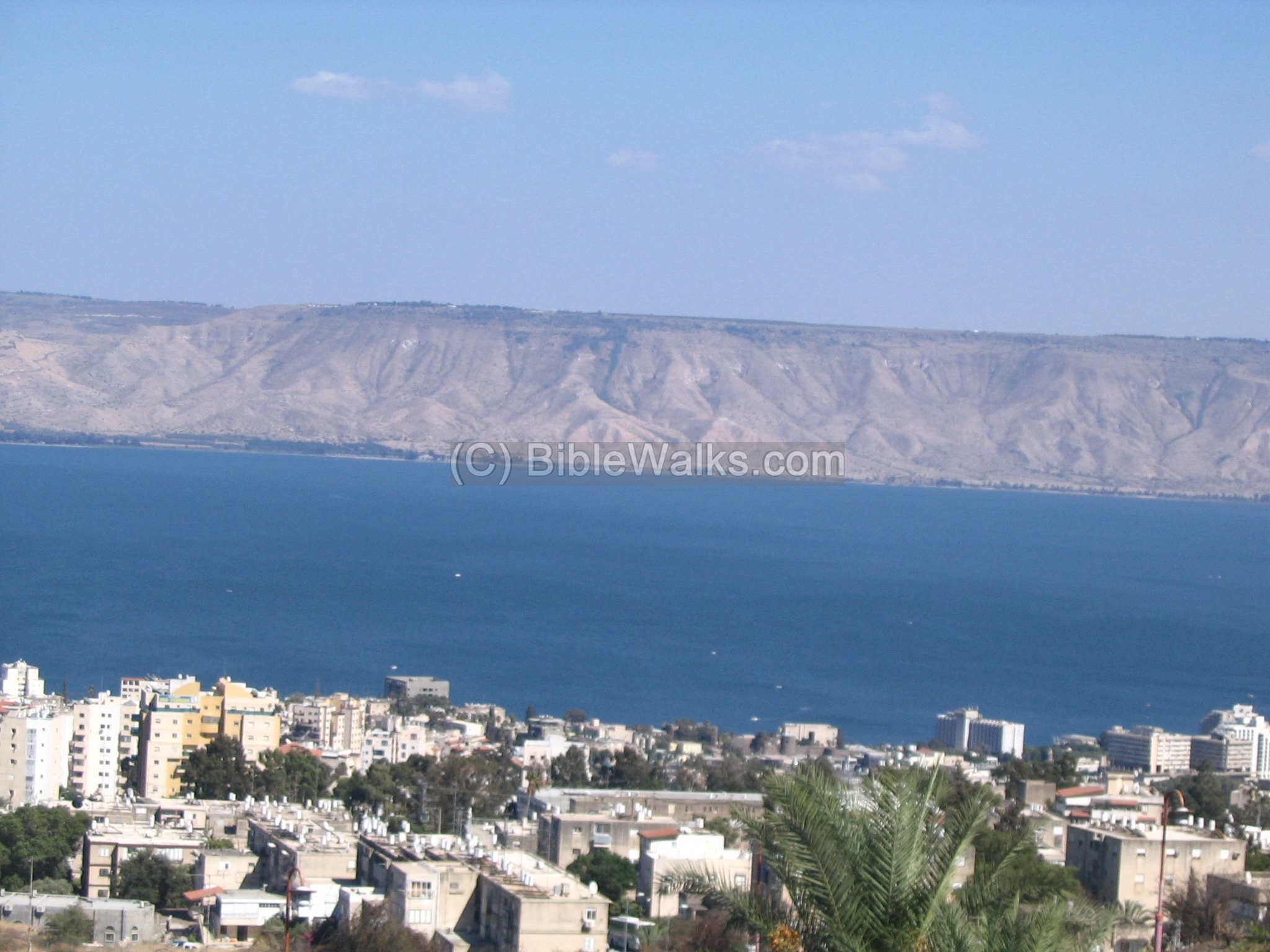 Sea of Galilee - Kinnereth - Overview