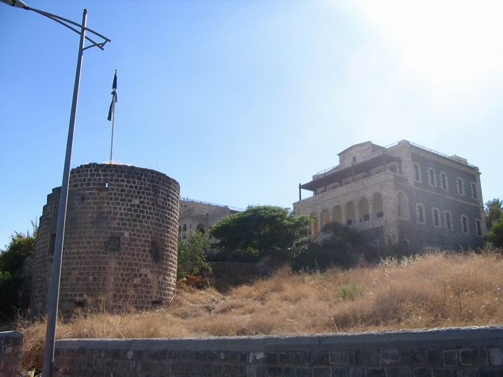 North end of Tiberias