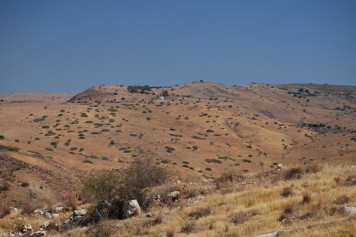 Kanaf valley - view from the south (from Moshav Ramot)