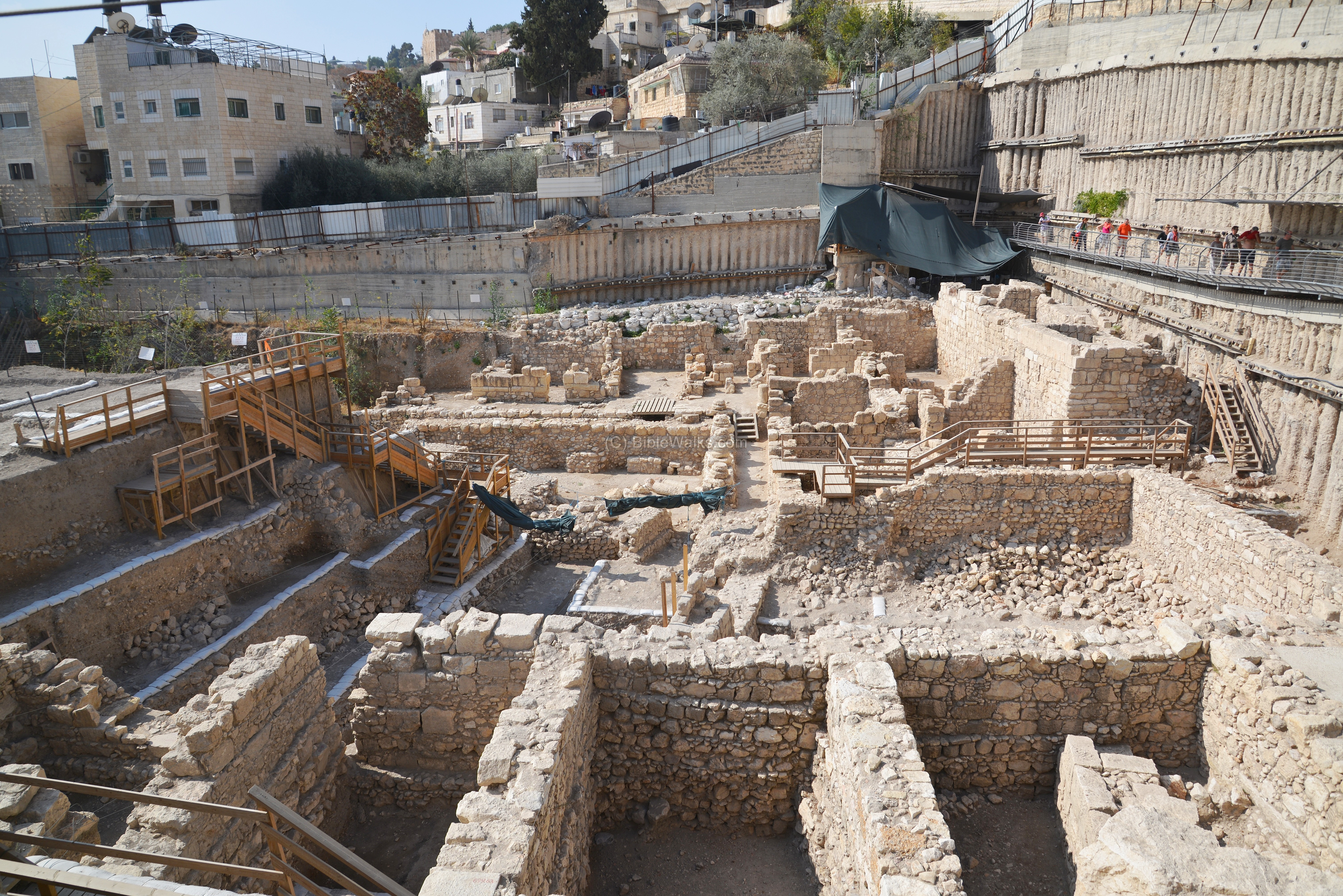 Central Drainage Canal Siloam To Temple Mount