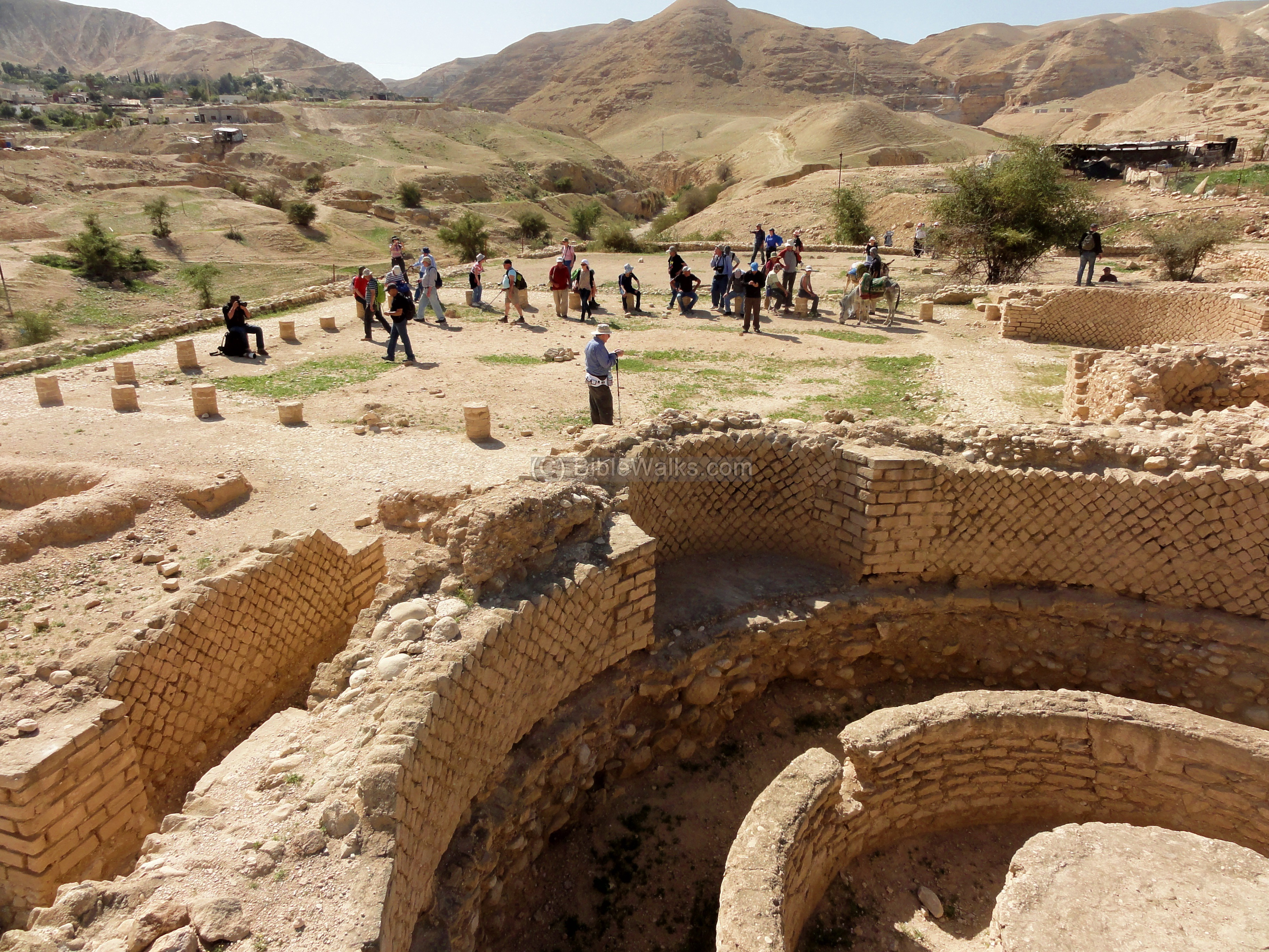 Hasmonean and herodian jericho for Jericho house