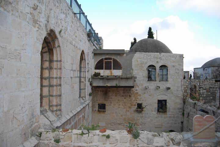 King David's tomb + Last supper