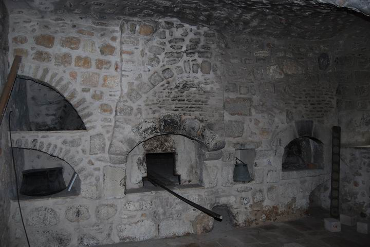 Stoves at the Monastery's Kitchen