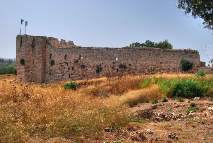 Afek in the Sharon: view from the south