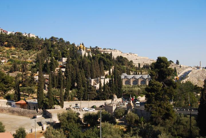 Mount of Olives - view towards the south-east