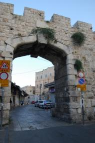 New gate in Jerusalem western walls