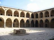 Khan al-Umdan in the old city of Acre.