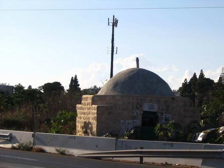 Neby Sawarka, across the road to the Tomb of Benjamin.