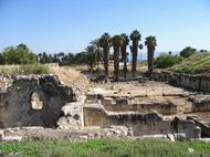 View of Khurvat Minya from the west side.