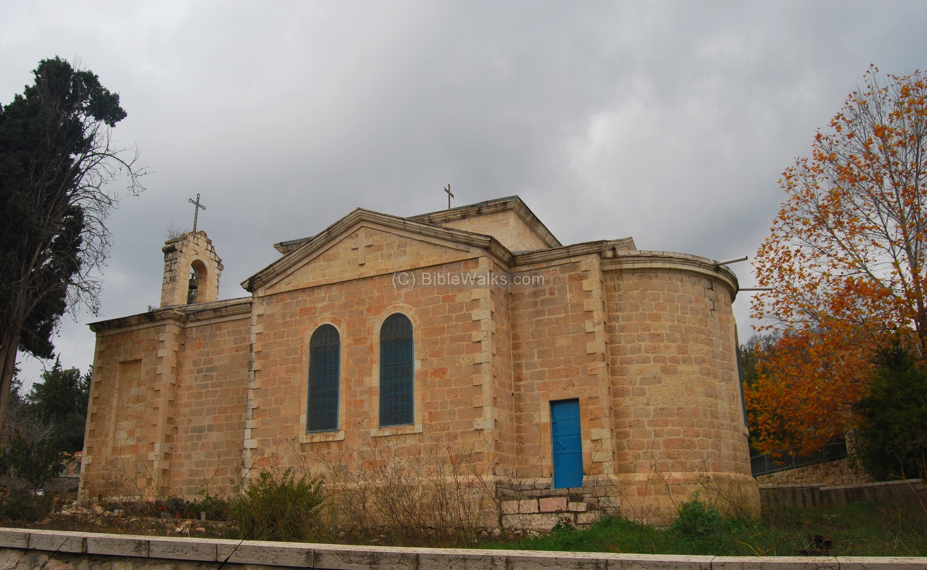 Greek orthodox church in ein kerem built in 1894 to service the