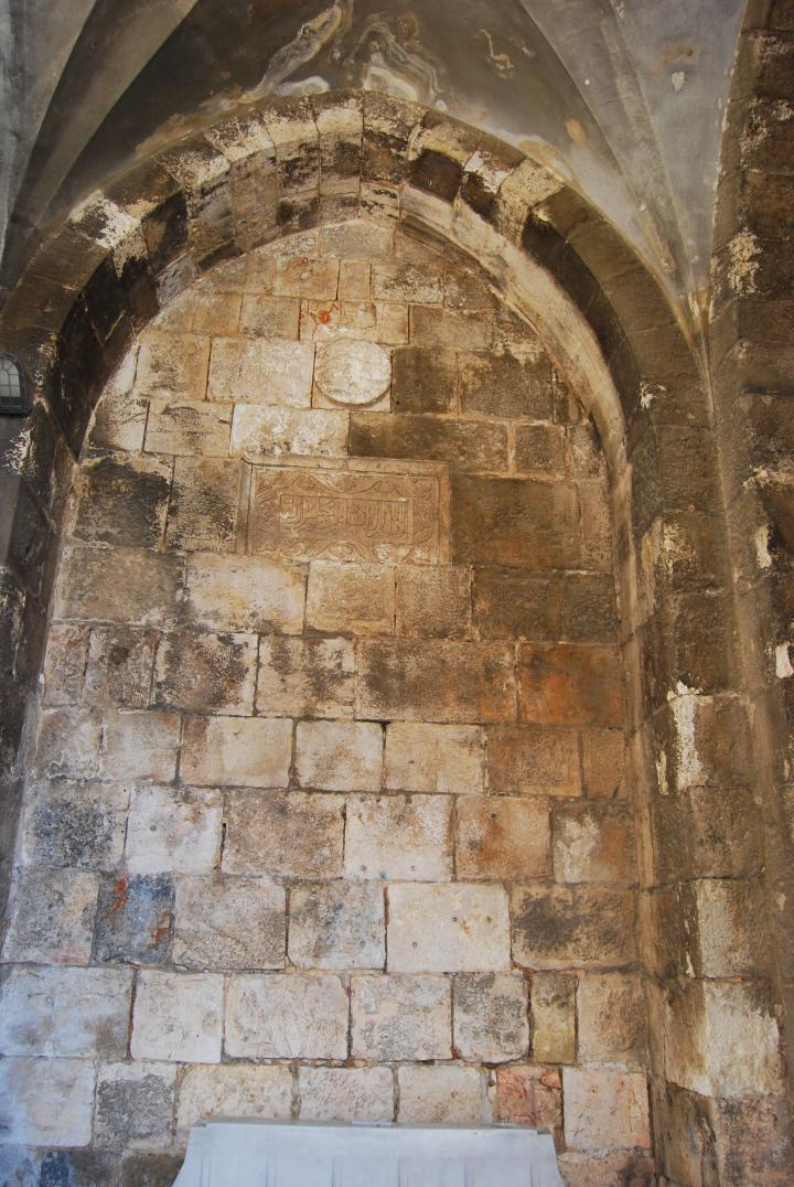 Jaffa gate - inner wall