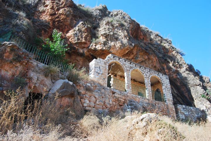 El-Khader cave, above Beit-Kerem valley