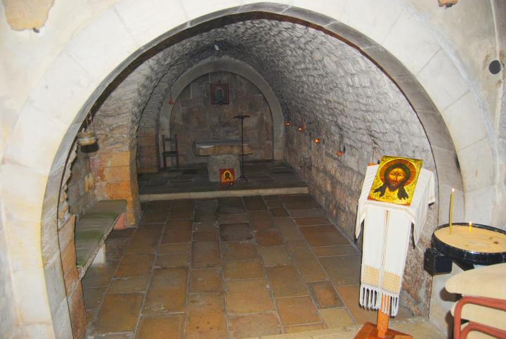 Via Dolorosa, 6th station - Holy Face church