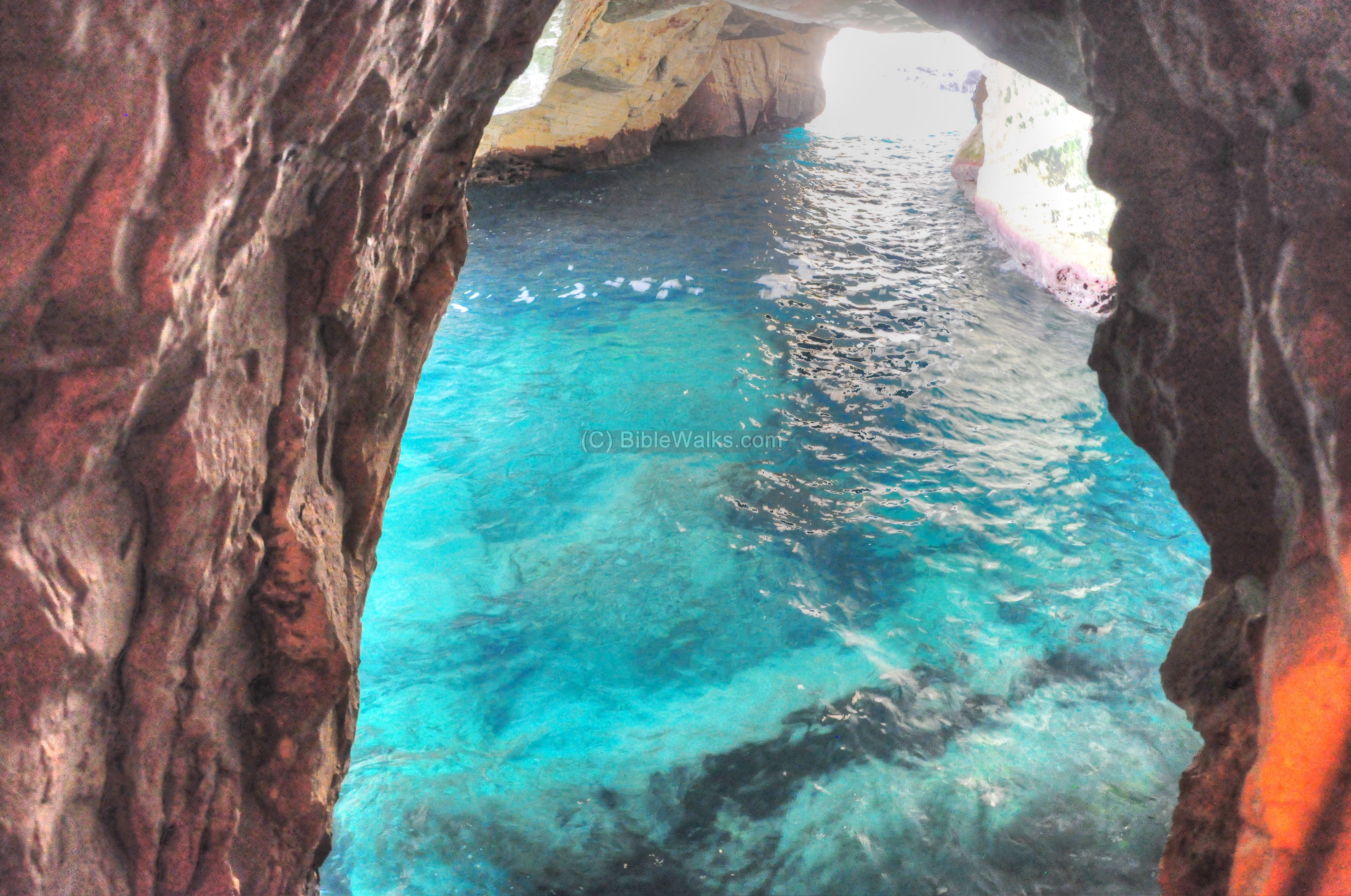 Rosh Hanikra The northwest border post – Israel Tourist Attractions Map