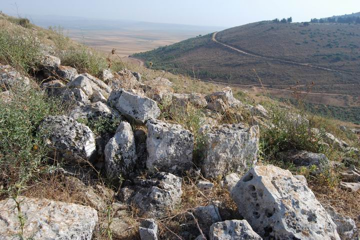 Ruins on the south side of Khirbet cana.