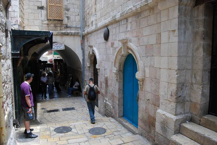 Via Dolorosa - station 6