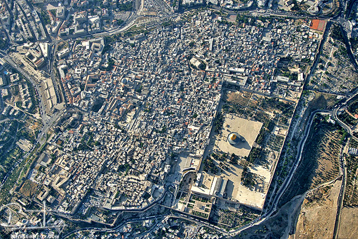 Jerusalem – Jerusalem Tourist Map