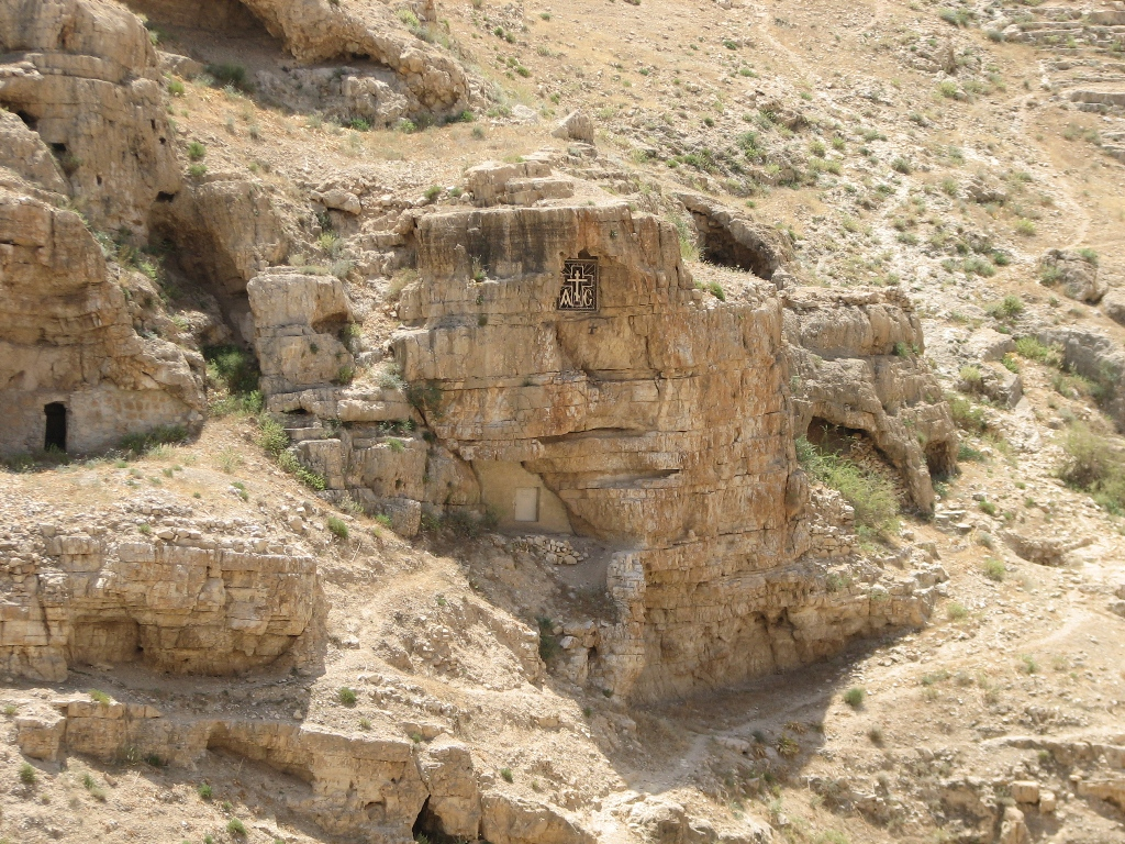 Cave of Mar saba.