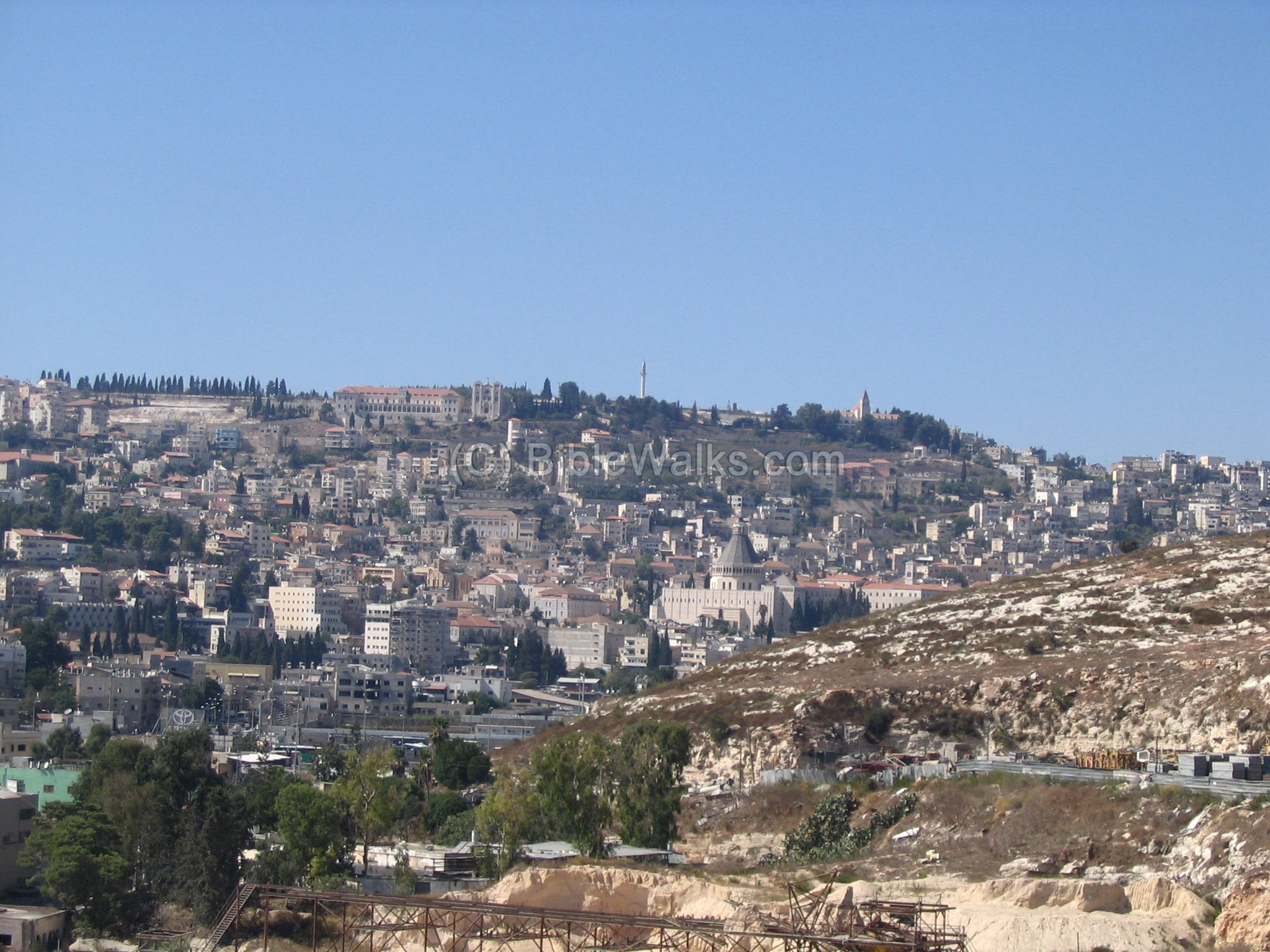 ' ' from the web at 'http://www.biblewalks.com/Sites/../Photos/nazareth1.jpg'