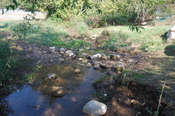 Yiftach-El creek.