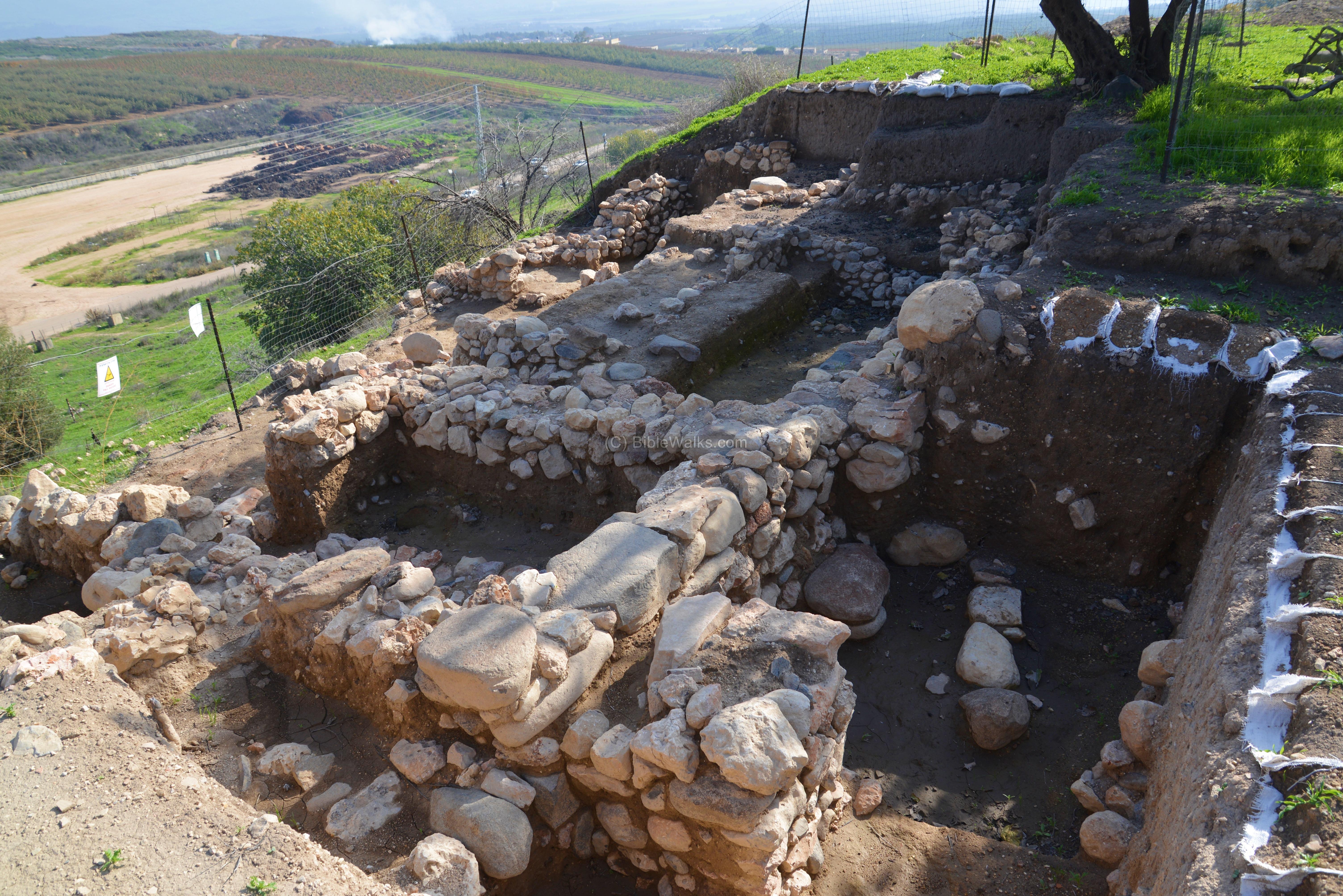 Stone Of Abel Beth Shemesh: Abel Beth Maacah