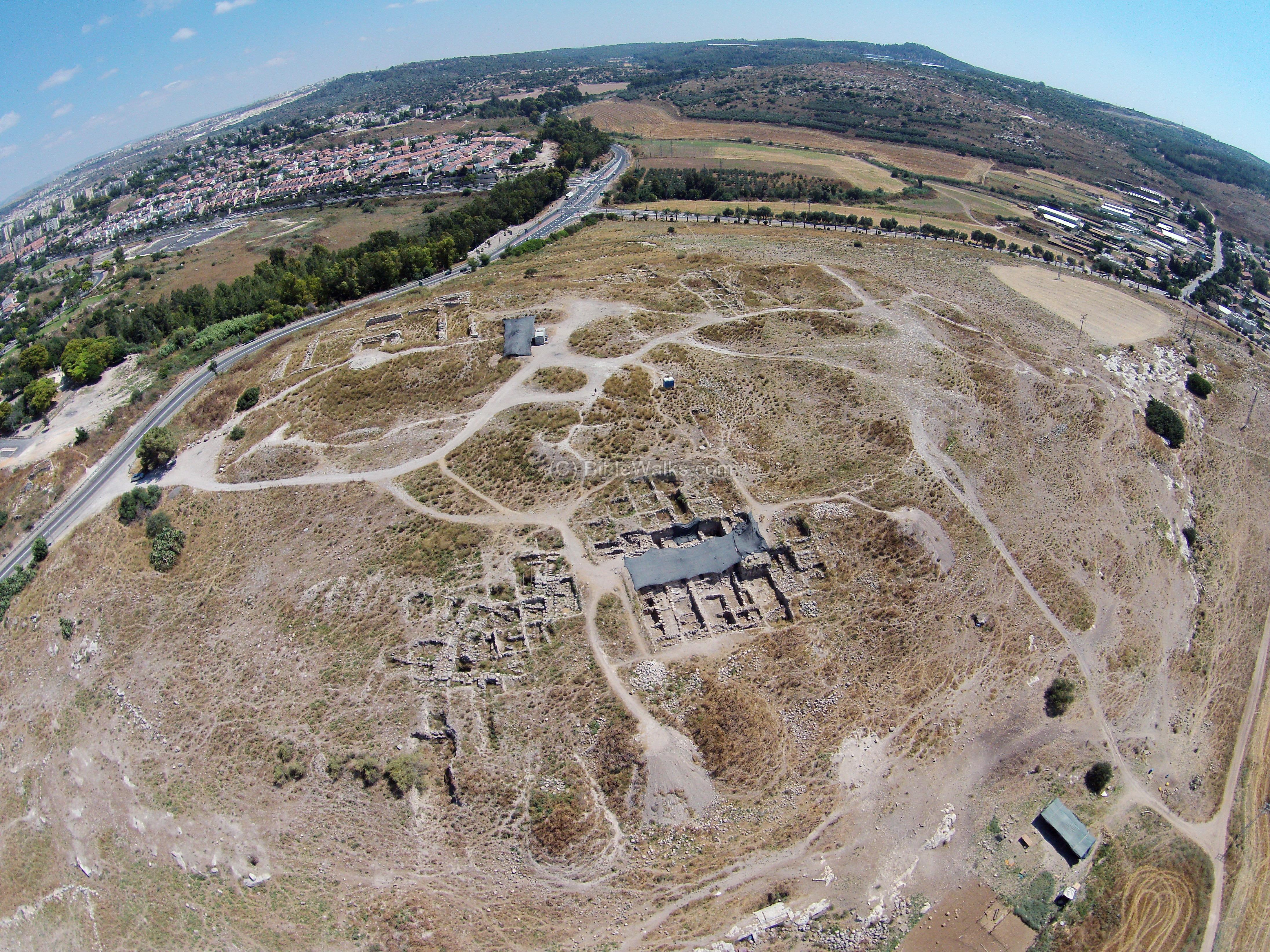 Beth Shemesh Bible Maps: Aerial Views (Page 2