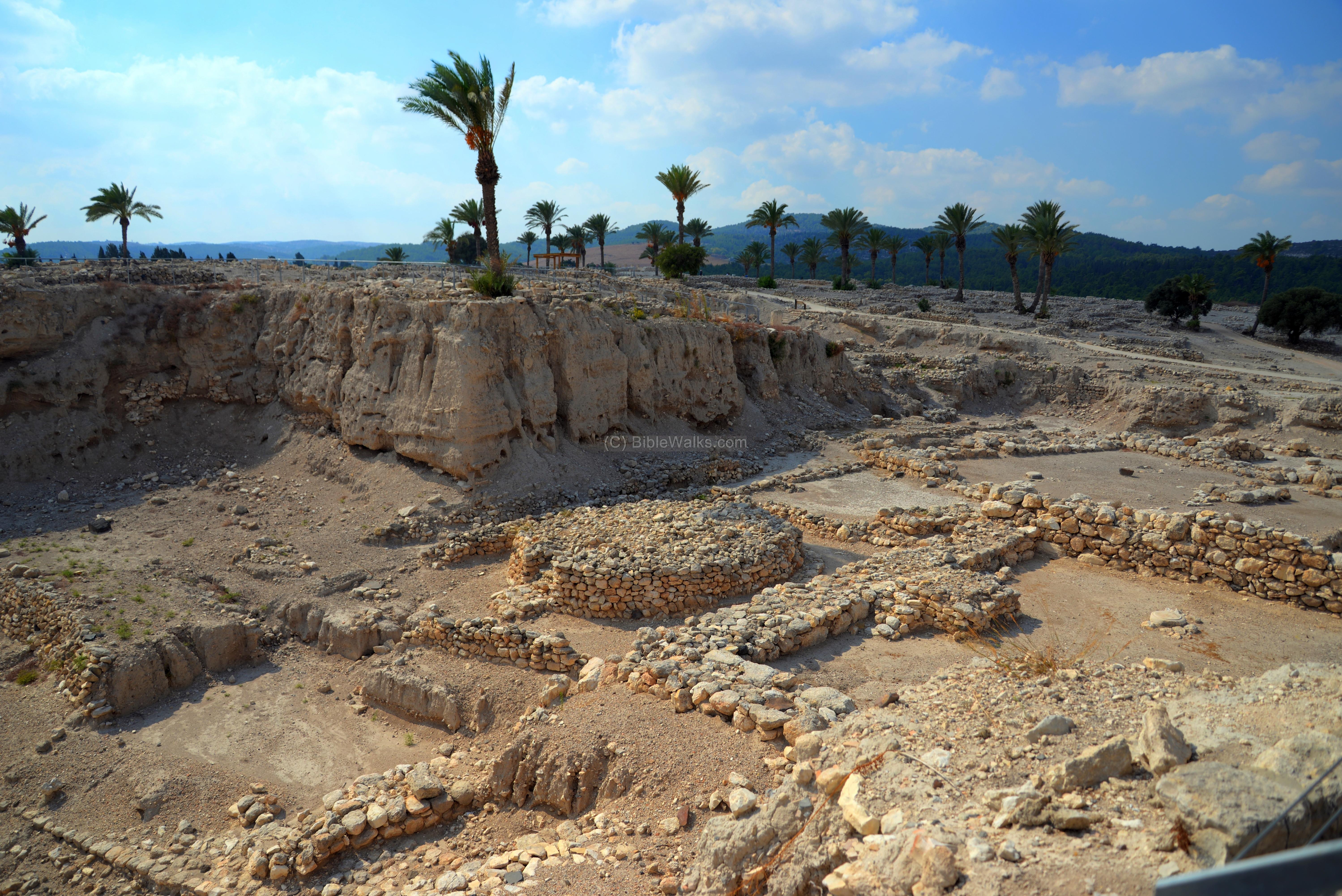 Tel Megiddo - BibleWalks.com