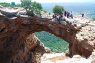 The cave of the arch (Keshet)