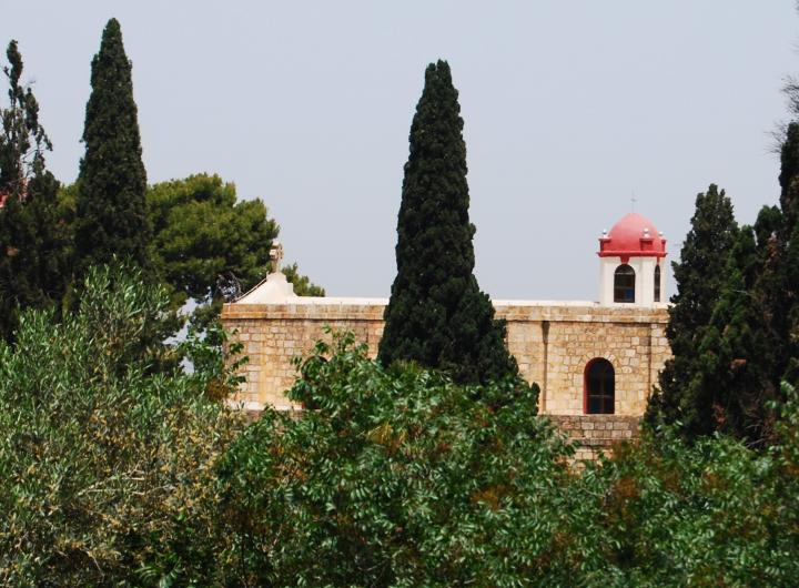 Greek Orthodox, St Elias, Mount Tabor - view from the south