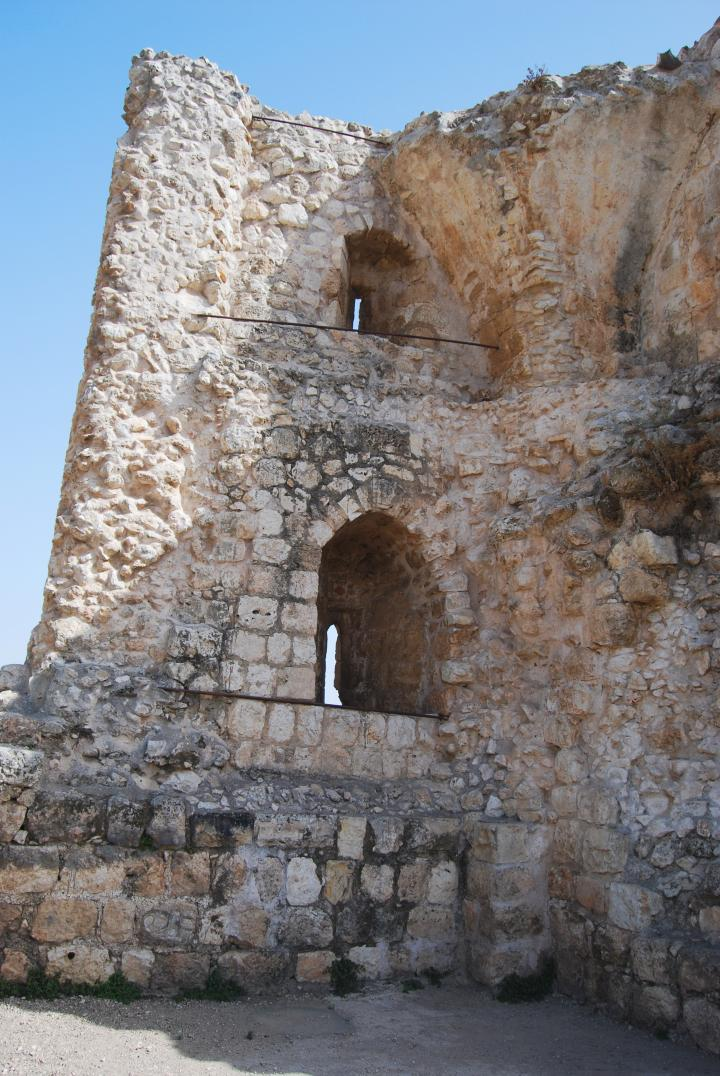 Afek in the Sharon: view of the north west tower