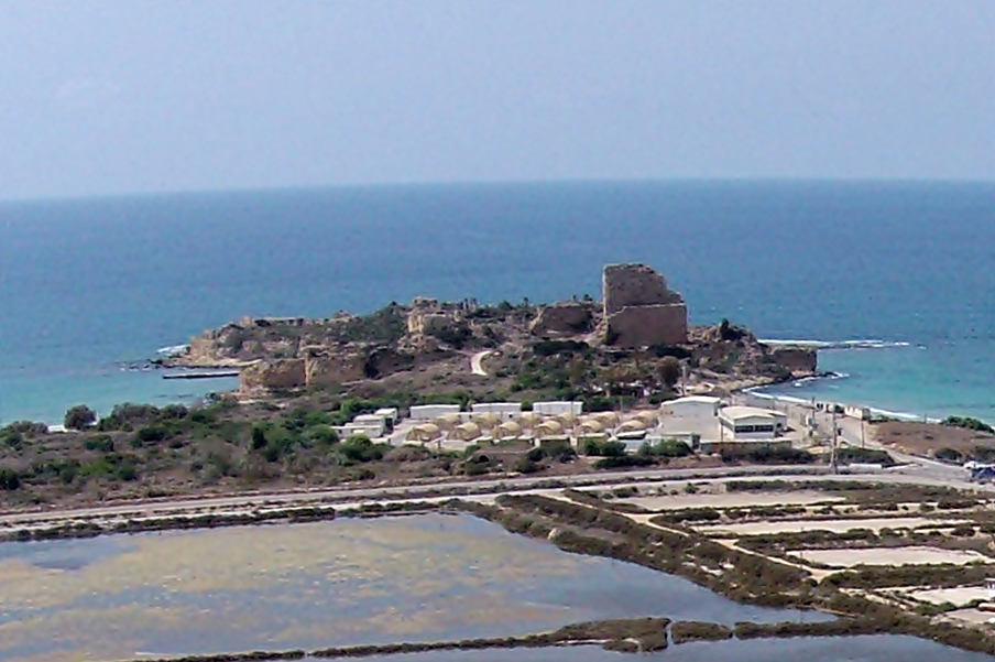 View of the Atlit fort from the east