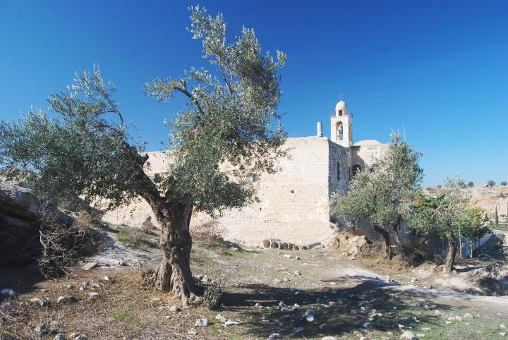 Mar Elias Monastery - view from north