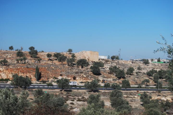 Mar Elias Monastery - west hill