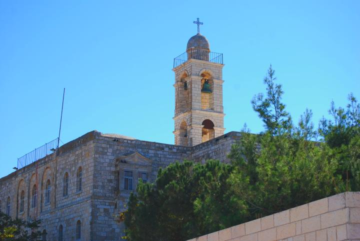 Mar Elias Monastery - view from front