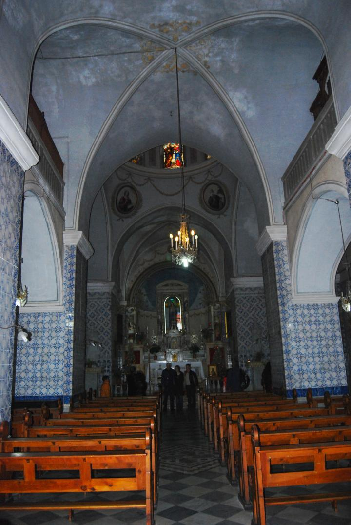 St John, Ein Kerem - hall of the church