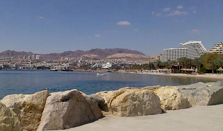 City of Eilat - view towards west