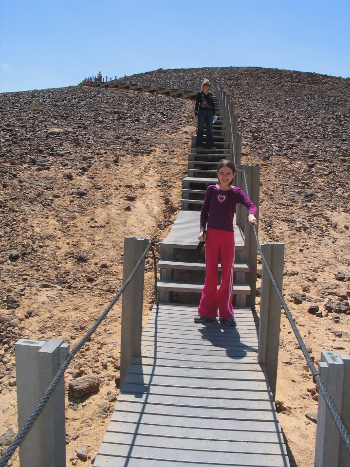 Ramon crater - Saw mill