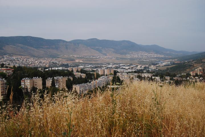 View of eastern side of Karmiel - from Kh. Bata