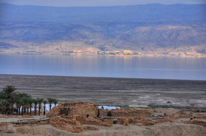 Tower and Dead Sea