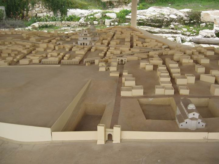 Reconstruction of the Byzantine city