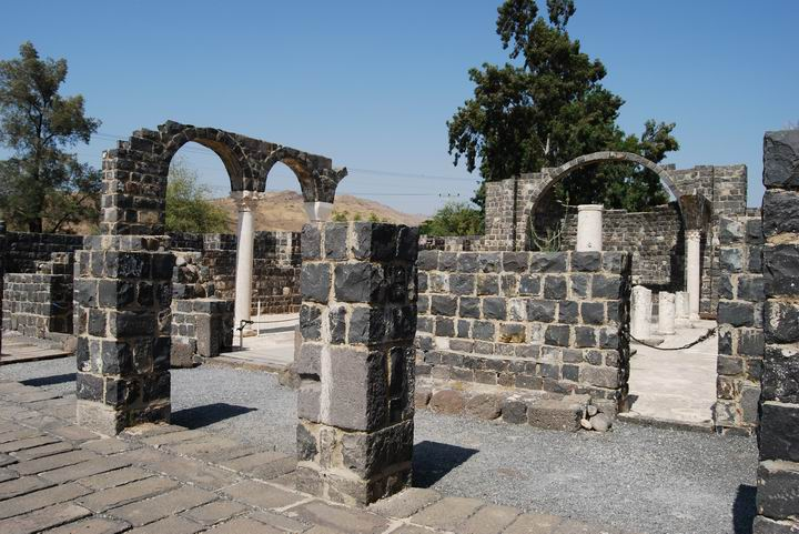 Atrium of Kursi, 5-6ThC AD church.