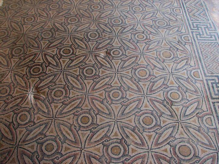 Sepphoris: Nile house - geometric patterns