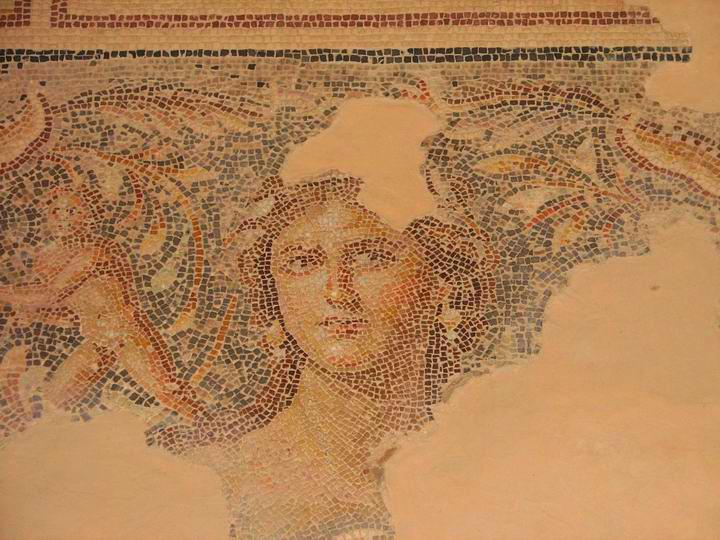 "Sepphoris: the ""Mona Lisa"" mosaic"